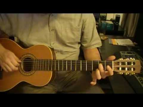 A7 Chord - Open Position - Fingering 1