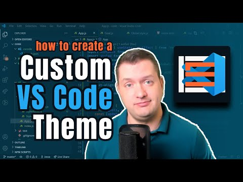 How to make a VS Code theme