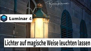 Luminar 4 - Lichter auf magische Weise leuchten lassen