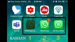 Download 3 whatsapp on iPhone | 100% Working
