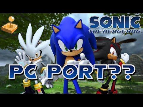 Sonic The Hedgehog 2006 PC Port (Demo) - смотреть онлайн на