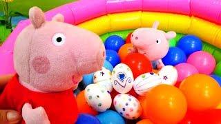 Spielzeugvideos für Kinder. PJ Masks, Peppa Wutz und Om Nom.