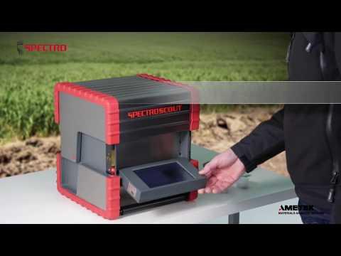 SPECTROSCOUT Portable EDXRF Analyzer (Video english)