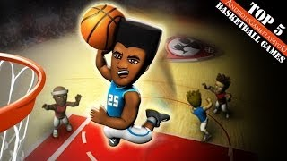 Top 5 Best Basketball Android Games 2014 (HD)