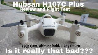 Hubsan H107C Plus - Review, Indoor/outdoor flight test