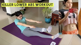 Try these killer workout for lower belly fat | How to engage core & breathe to lose belly fat
