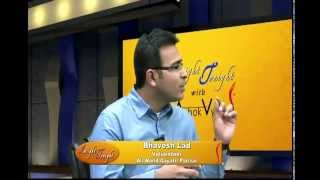 Year 2014 | Pragna Patel, Bhavesh Lad, Yash Patel and Ramesh Jeevan with Ashok Vyas of ITV
