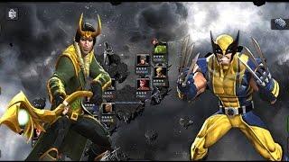 Loki Vs RoL Wolverine - MCOC Realm of Legends
