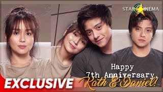 Happy 7th Anniversary, Kathryn & Daniel! 💙