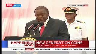 President Uhuru unveils the new Kenyan currency