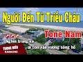 Karaoke Người Đến Từ Triều Châu Tone Nam Nhạc Sống   Trọng Hiếu