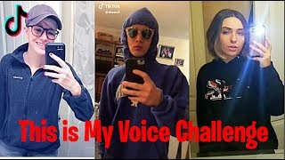 THIS IS MY VOICE TIKTOK COMPILATION (FUNNIEST MEMES)