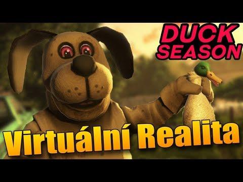CREEPY HOROROVÁ VIRTUÁLNÍ REALITA?  - Duck Season #1
