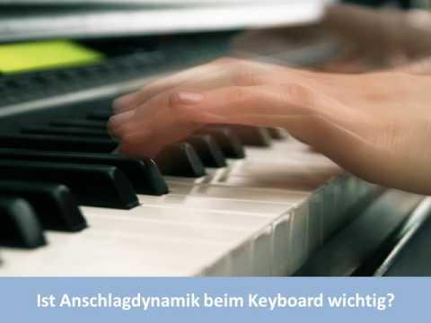 Ist Anschlagdynamik beim Keyboard wichtig? | Keyboard Ratgeber | keyboard1.de