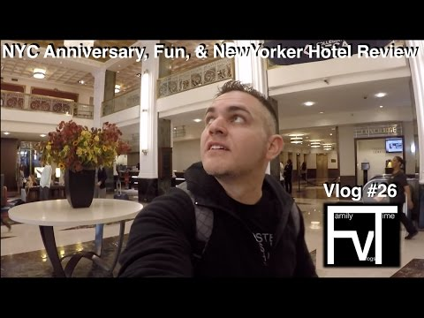 NYC Anniversary 20$ dollar Wyndham New Yorker Hotel Stay and Review FTV vlog 26