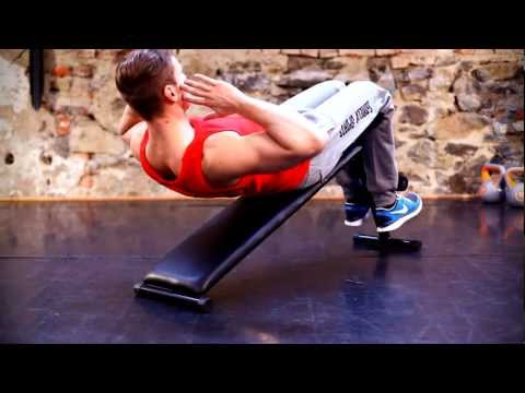 Planche à abdominaux - Exercices - Gorilla Sports