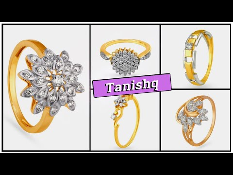 🌹 Tanishq Diamond Rings With Price (Latest Designs For Women)