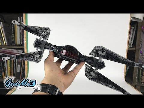 Vidéo LEGO Star Wars 75179 : Kylo Ren's Tie Fighter