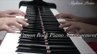Rock Canon Piano Version after Japan Composer Prof.Takushi Koyama