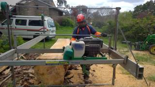 Cutting Framing timber with the Lucas Mill - Part 2
