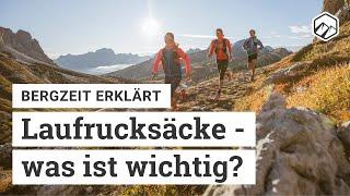 Laufrucksack-Beratung | Bergzeit erklärt