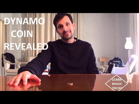 COIN MAGIC TRICKS REVEALED 2016 dynamo magic trick revealed