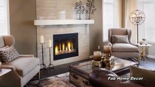 2018 Winter Fireplace Mantel Decoration Ideas