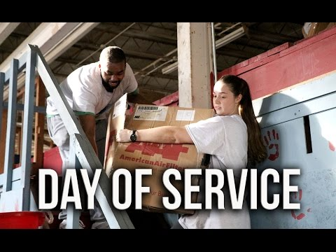Video: Students celebrate MLK Day with UMMC Day of Service