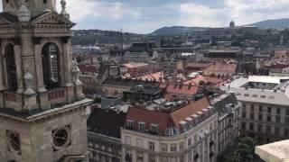 Вид на Будапешт с собора Св. Иштвана