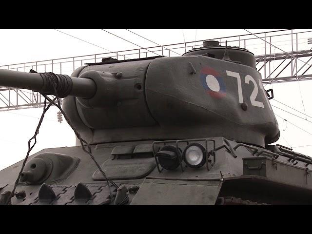 Т-34 прибыли в Иркутск