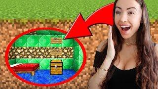Building a SECRET ROOM! (Minecraft)
