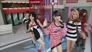 【TVPP】4MINUTE - Heart To Heart, 포미닛 - 하트 투 하트 @ Comeback Stage, Music Core Live