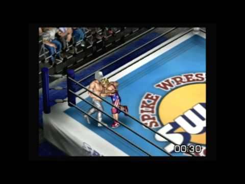 Fire Pro Wreslting G Playstation