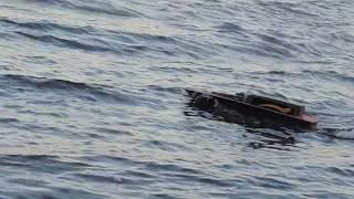 Прикормочный кораблик геркулес для рыбалки своими руками
