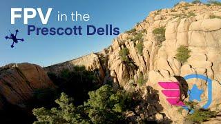 FPV Flight in the Prescott Dells with DeekonFPV