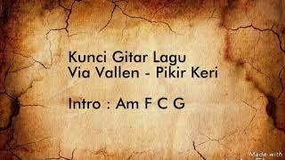Via Vallen - Pikir Keri (Lyric Video & Chord Gitar )