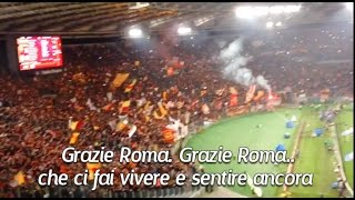 AS Roma Chants - Grazie Roma (with Lyrics)