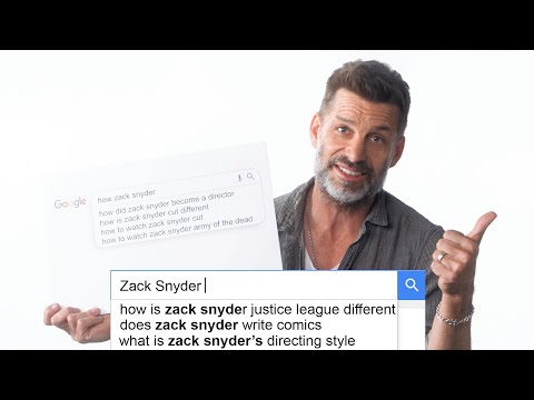 Zack Snyder Answers the Web's Most Searched Questions   WIRED