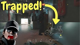 Trapping Noobs in Tower! - Rainbow Six Siege