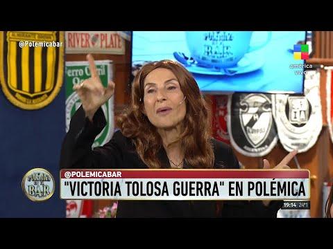 """MIRA EL VIDEO La aparición de """"Victoria Tolosa Guerra"""" en Polémica en el Bar"""