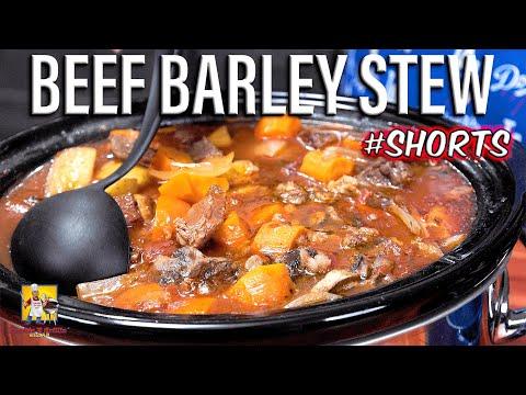 Beef Barley Stew #Shorts