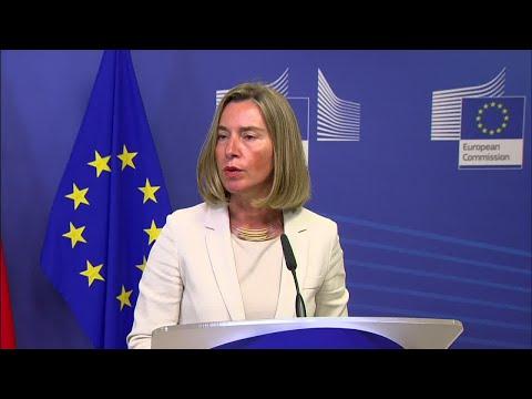 Mogherini on Trump tariffs: