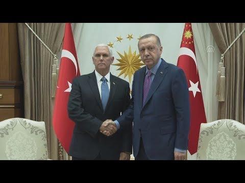 Ο Πρόεδρος της Τουρκίας συναντήθηκε με τον αντιπρόεδρο των ΗΠΑ