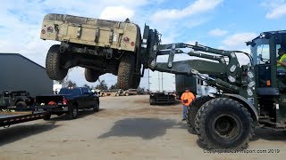 Picking up a Surplus HMMWV M1045A2 from Auction & Transforming it into the Battlewagon 2.0