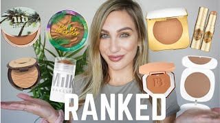 RANKING ALL MY BRONZERS   FROM WORST TO BEST