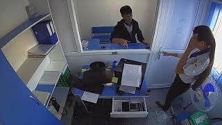 """Смотреть онлайн На ограбление банка пришел """"Терминатор"""""""