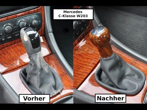 Montageanleitung für Mercedes Schaltknauf Ausbau und Einbau