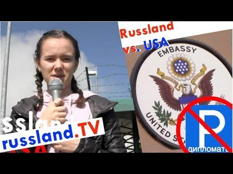 Russland: Parkplatz-Coup im US-Diplomatenkrieg [Video]