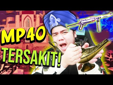 MP40 JIN ALADIN + AK47 EMAS SULTAN MENGHANCURKAN SEGALANYA!! - Free Fire Indonesia #115