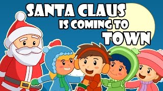 Santa Claus Is Coming To Town | Christmas Songs | BabyMoo